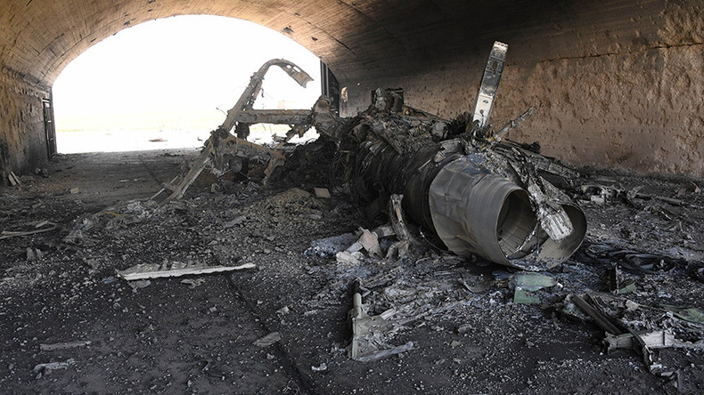 Airbase hit by US missiles 'heavily involved' in anti-ISIS campaign – relative of strike victim