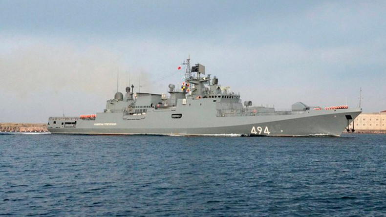 Russian missile frigate returns to Mediterranean