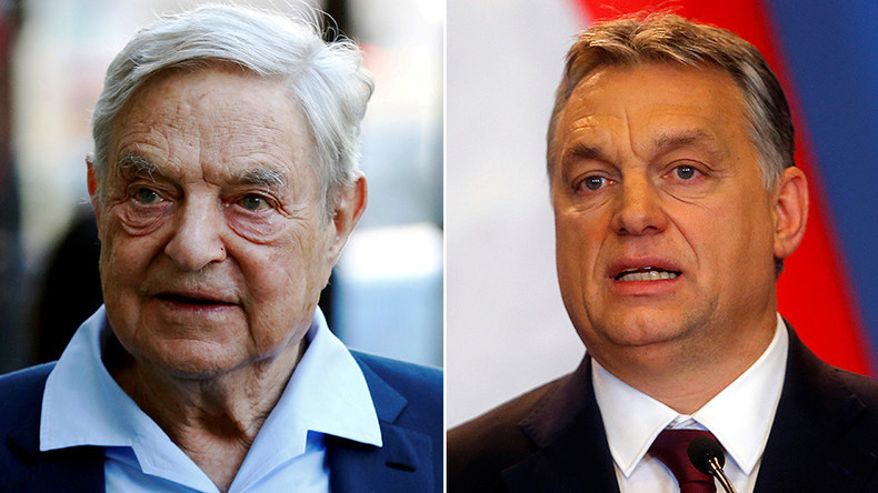 George Soros and Viktor Orbán go to war in Budapest — RT Op-ed