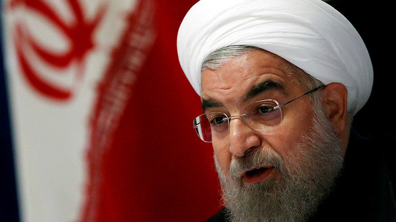 Iran's Rouhani slams US military action in Syria, calls for 'impartial fact-finding probe'