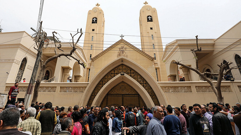 20+ killed after church bombing in Egyptian city 90km from Cairo