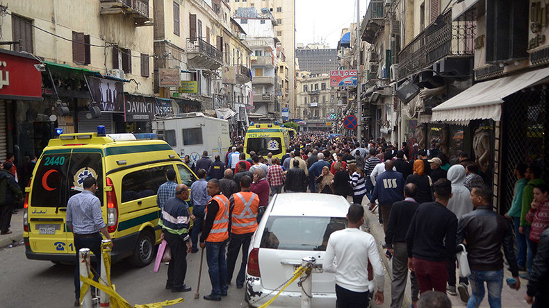 11 killed, 40 injured by ISIS suicide bomb attack at Coptic church in Alexandria