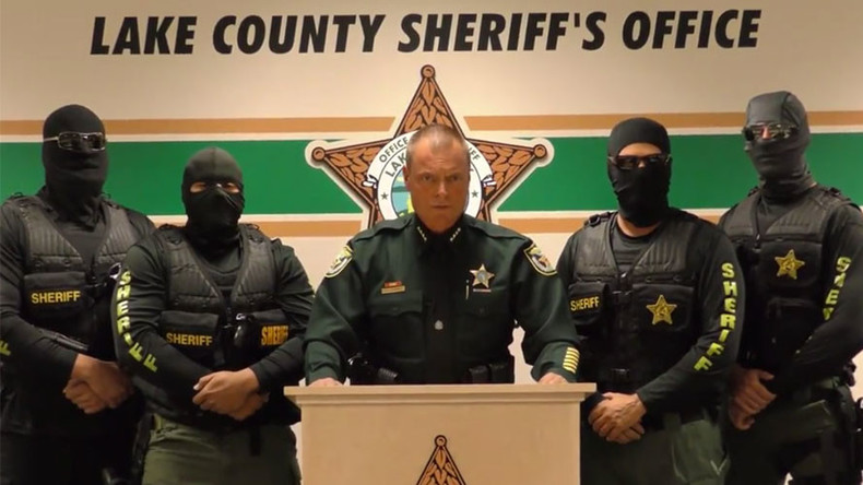 'We're coming for you': Masked US deputies issue chilling warning to drug pushers (VIDEO)