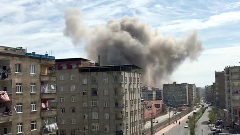 Turkish police station blast: 1 dead, several injured during vehicle repair in Diyarbakir (VIDEOS)