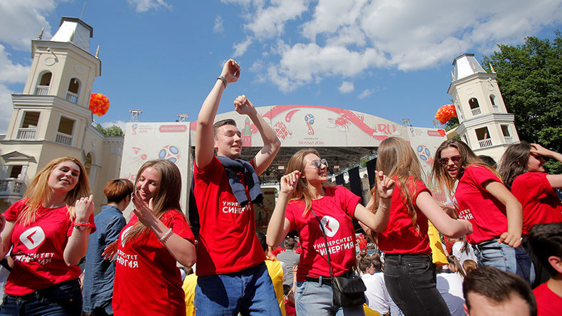 Biggest In History World Cup Russia  Volunteer Program Sees  Applications