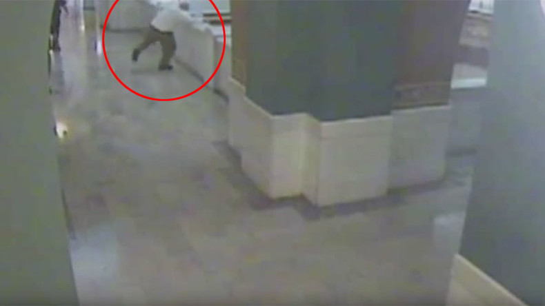 Man on trial for child rape & triple murder jumps to death from courthouse balcony