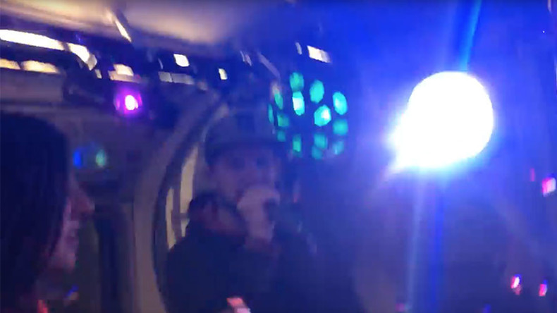 Underground drum 'n' bass! London Tube train transformed into 'pop-up club' (VIDEO)