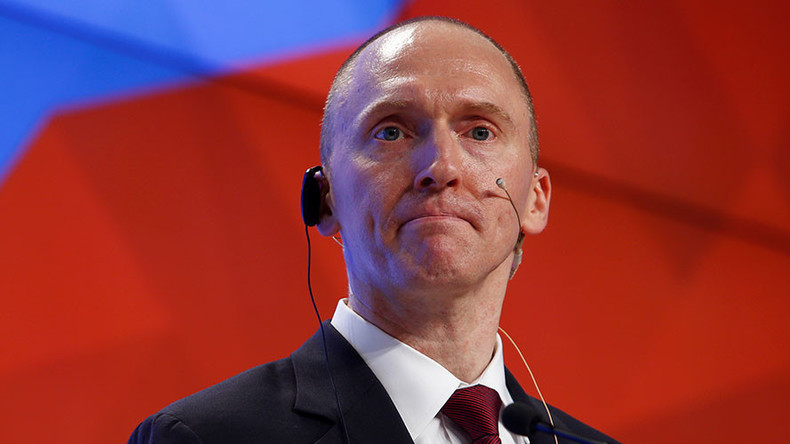 FBI investigated Trump adviser Carter Page under FISA warrant