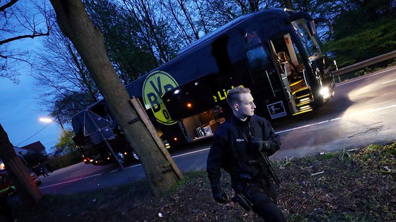 German police investigating 'Islamist link' in Borussia Dortmund bus blast - report