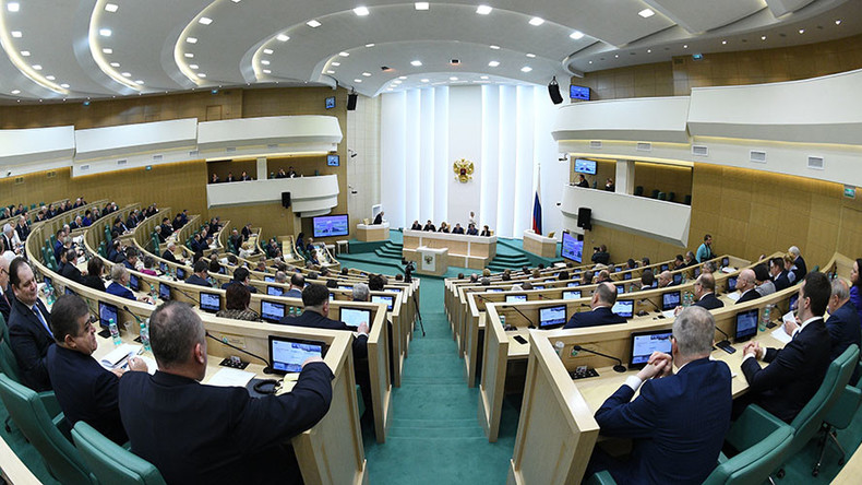 Russian senators blast US military action in Syria in address to world parliaments