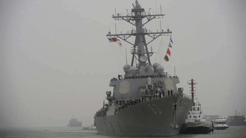 USS Stethem conducting operations in S. China Sea – Navy