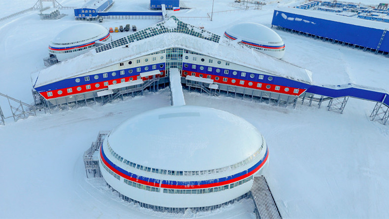 Arctic Shamrock: Russian MoD offers interactive 360° tour of unique military base (PHOTOS)
