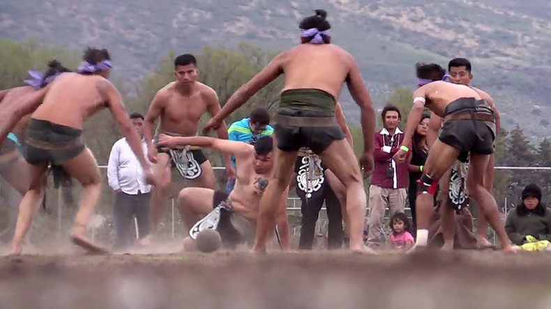 Pelvis power! 3,000yo Mayan ball game thrust into 21st century in Mexico