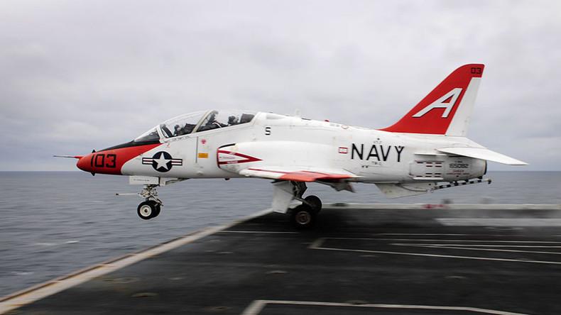US Navy resumes T-45 training flights despite oxygen concerns