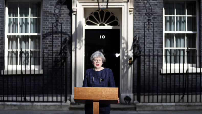 Theresa May calls for snap UK general election June 8