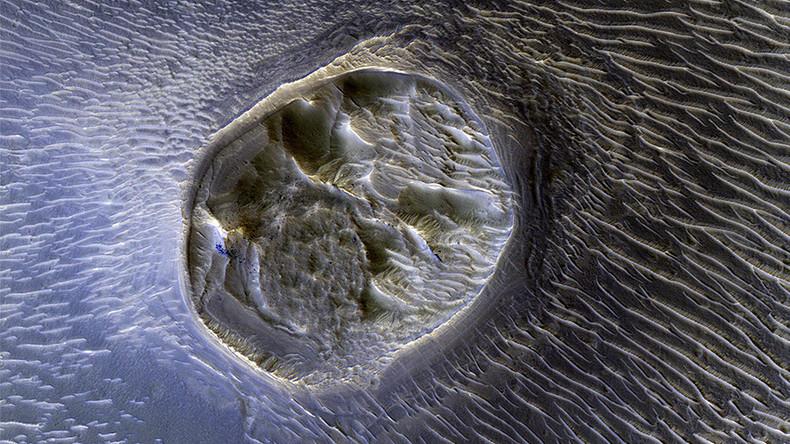 NASA captures incredible new photo of Mars surface