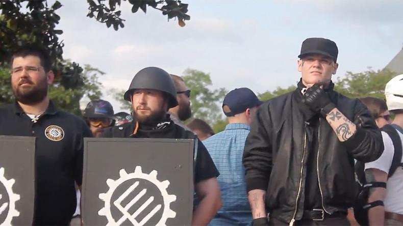 Protests greet 'alt-right' speaker in Auburn, Alabama (VIDEO)