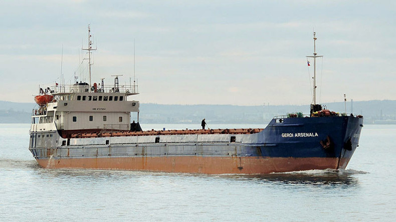 Cargo ship with 12 crewmembers sinks in Black Sea, rescue operation under way