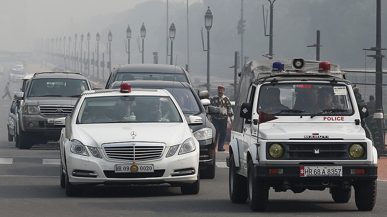 India bans elitist red beacons from VIPs' cars, including for PM and president