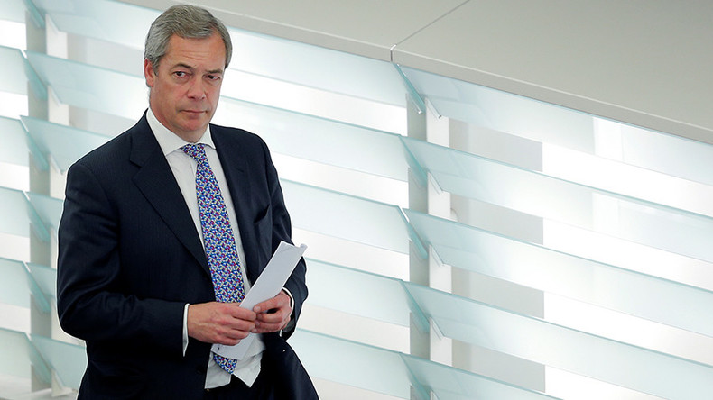 Nigel Farage 'weighing up' running in general election