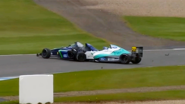 Over £500K raised for teenage racing driver who had double leg amputation (VIDEO)
