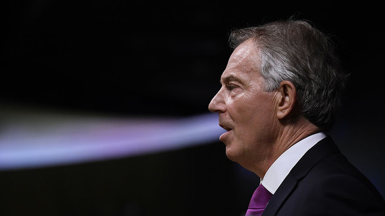 Tony Blair urges cross-party election push to stop Tory 'hard Brexit'