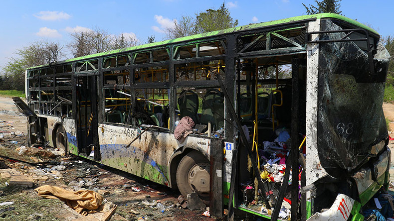 Syria bus bombing: 'Western media reporting bears zero resemblance to eyewitnesses' testimonies'