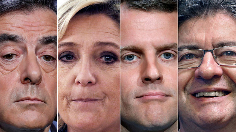 Food fights & holograms: French election campaigns are more than just boring politics