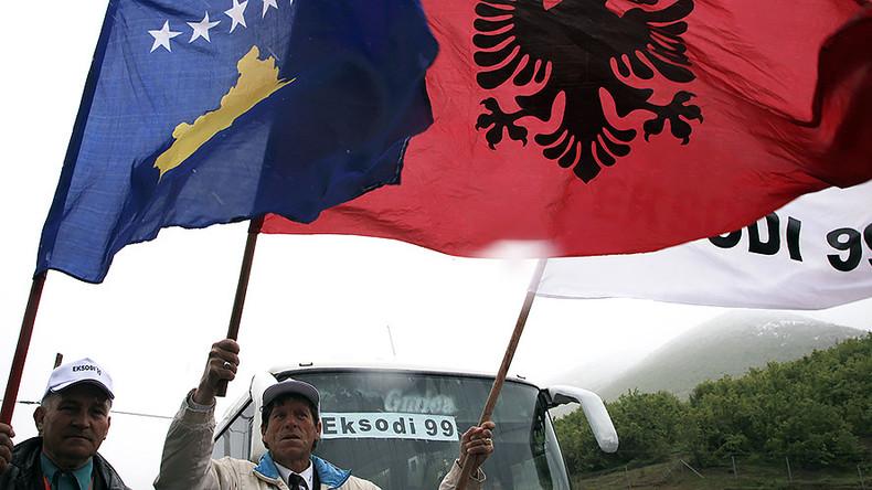 Serbia warns of new Balkan war if Albania unites with Kosovo