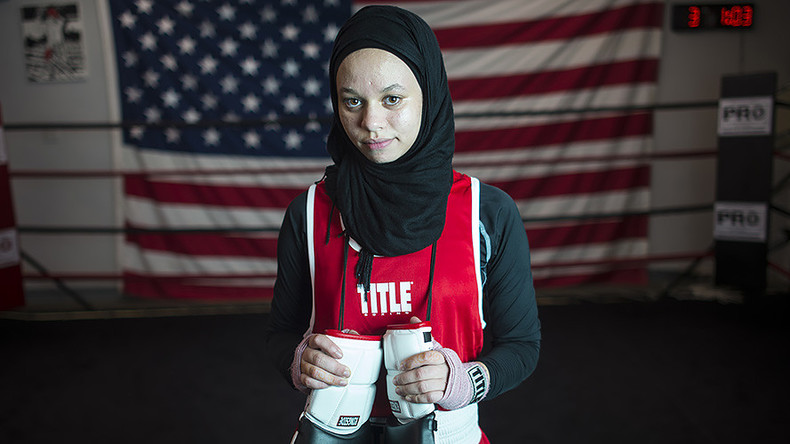 Muslim teen wins fight for right to box in hijab