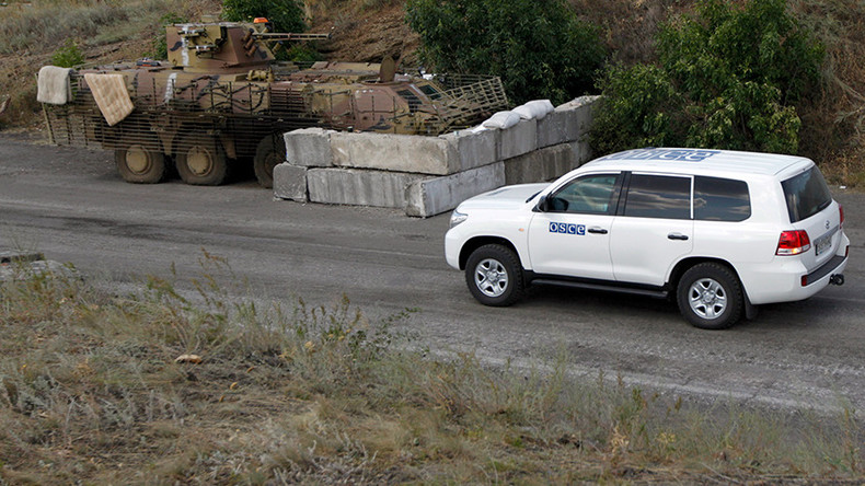OSCE patrol car blast 'likely a provocation' to undermine peace process in E. Ukraine – Moscow