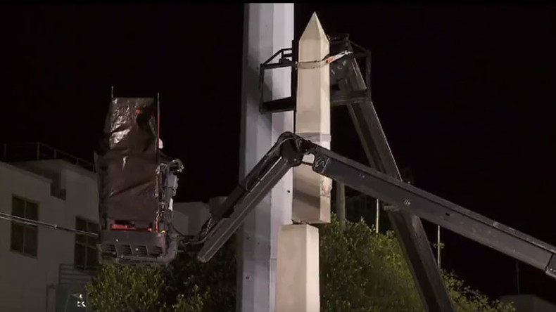 New Orleans removes 1st of 4 Confederate statues that 'revere white supremacy'