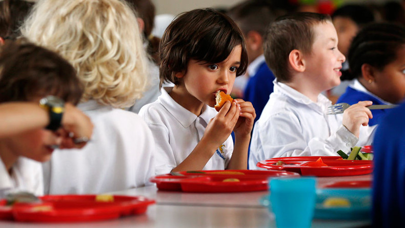 British children go hungry on vacation without free school meals