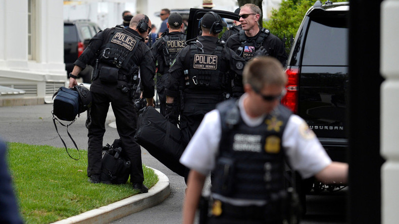 Nobody panic! Washington DC holds 'full scale terror attack' drill ahead of N Korea briefing