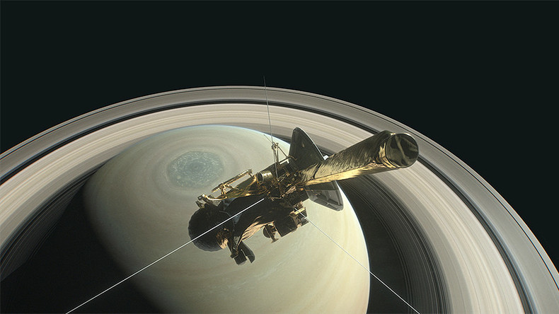 Grand finale: Cassini begins dramatic dive between Saturn's rings