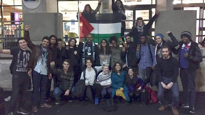 British students launch hunger strike in solidarity with Palestinian prisoners