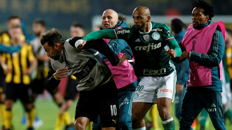 Mass post-match brawl mars Copa Libertadores match between Palmeiras & Penarol