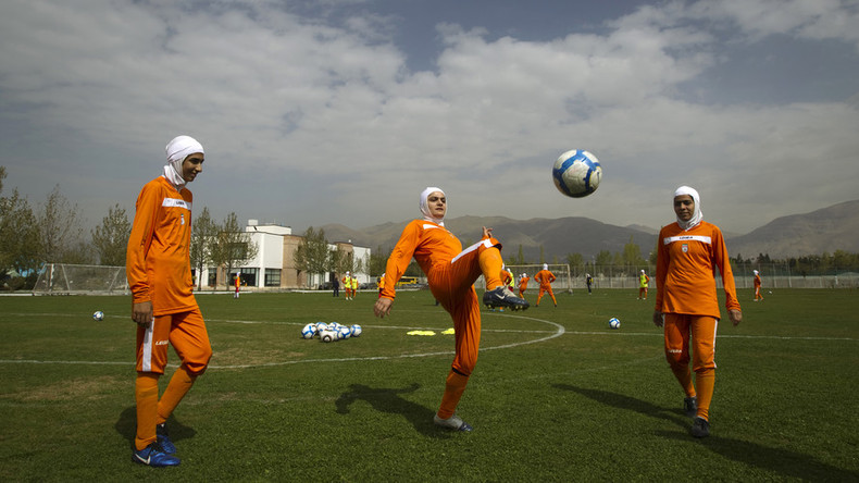 Iranian soccer star banned for not wearing hijab in exhibition game