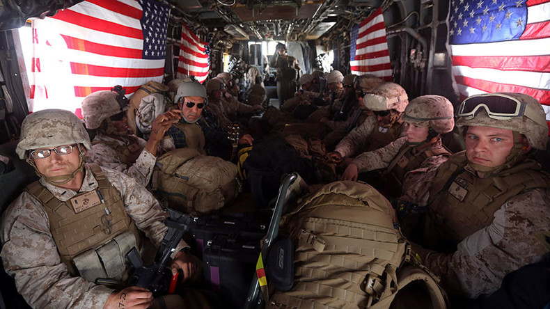 US Marines return to Afghanistan's Helmand province for first time since 2014
