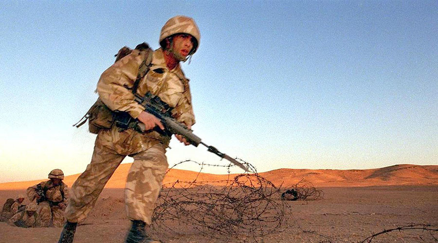 UK sends troops to train Jordanian military as Theresa May begins Middle East charm offensive