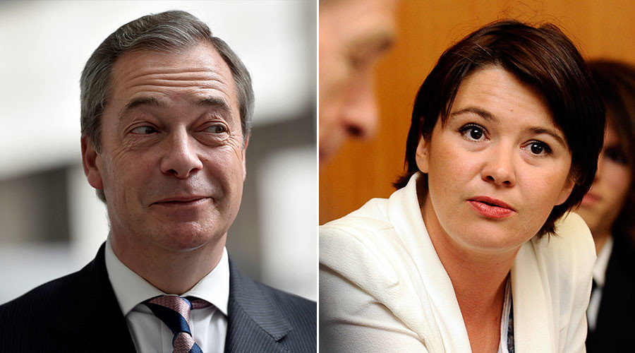 Nigel Farage 'dating' French politician 16yrs his junior, says glamor model