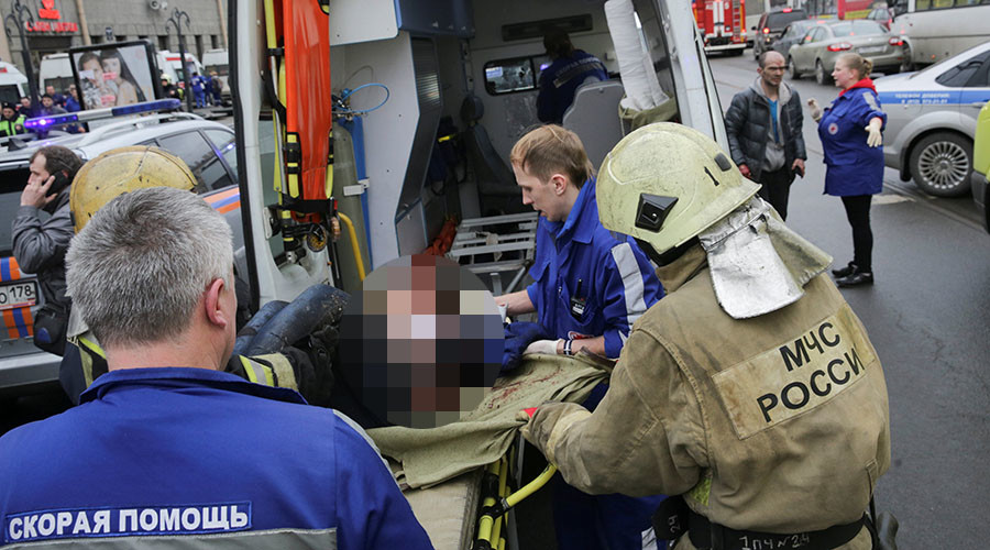 Putin: Terrorism among causes considered for St. Petersburg Metro blast
