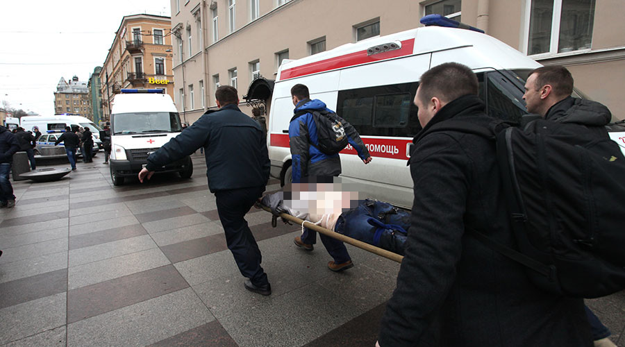 'Show the cost, not the criminal': Snowden leads int'l sympathies after #StPetersburg blast