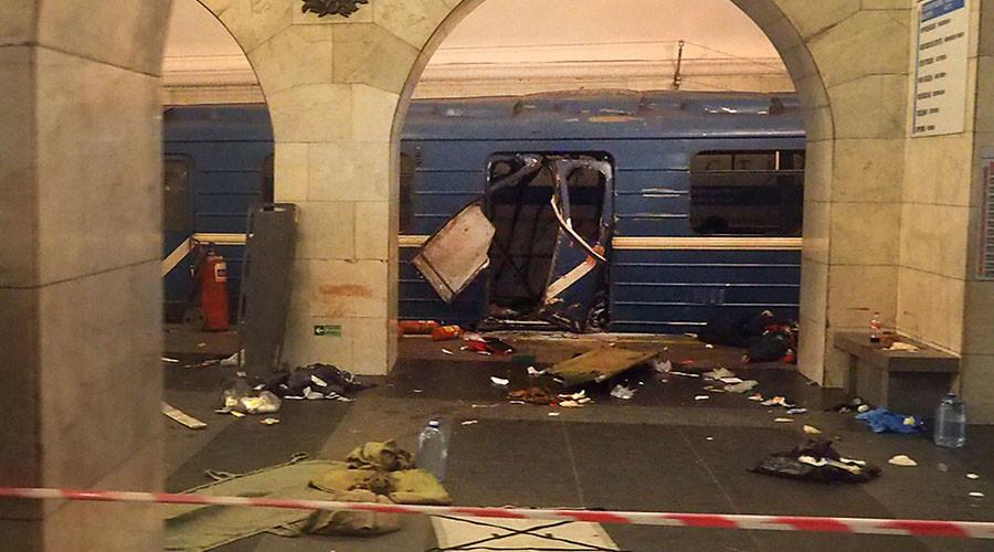First dramatic videos reveal immediate aftermath of St. Petersburg Metro blast (VIDEOS, PHOTOS)