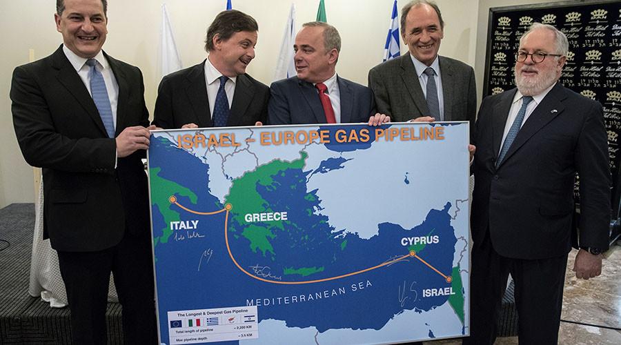 EU, Israel agree to develop Eastern Mediterranean gas pipeline