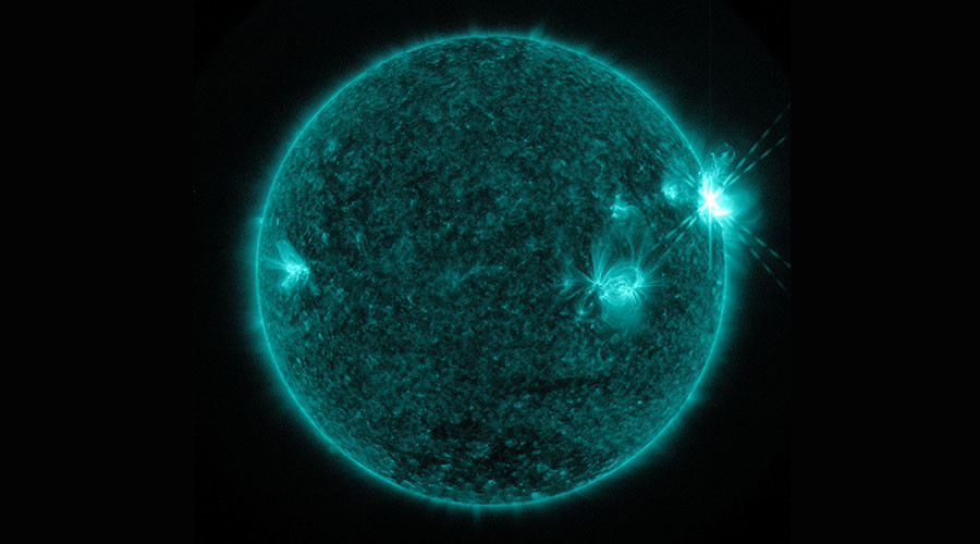 3 solar flares in 24hrs: NASA captures stunning images of sun eruptions (PHOTOS)