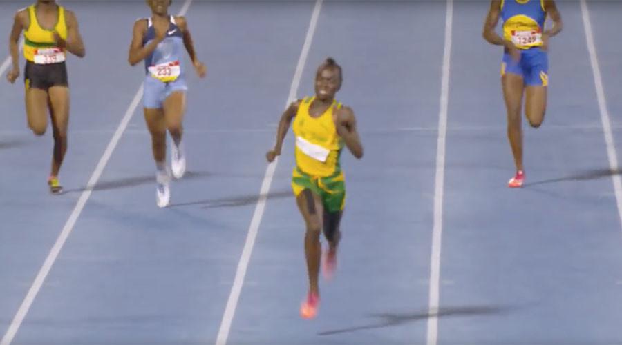 Next Usain Bolt? Introducing 12-year-old sprint sensation Brianna Lyston