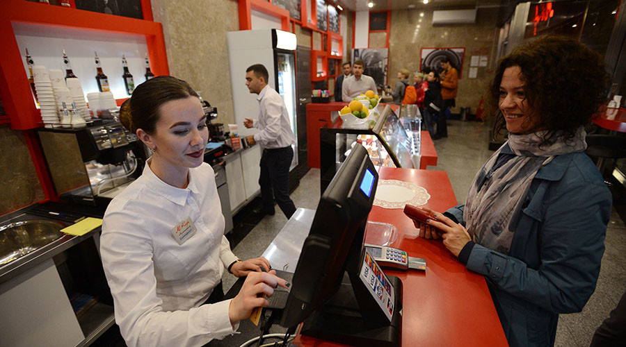 Russian service activity moves up as sector adds jobs
