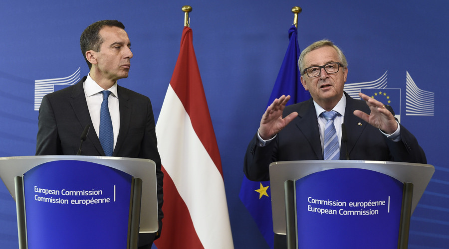 Euro Commission chief says 'no' to Austria's plea to quit refugee quota scheme