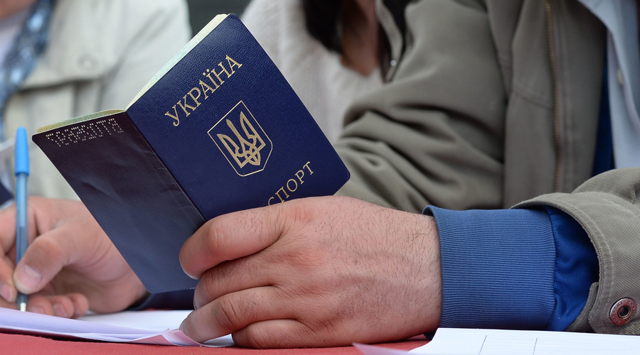 Ukraine online passport service down after EU votes for visa-free travel